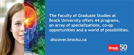 Faculty of Graduate Studies, Brock University