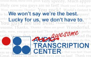 Audio Transcription Center